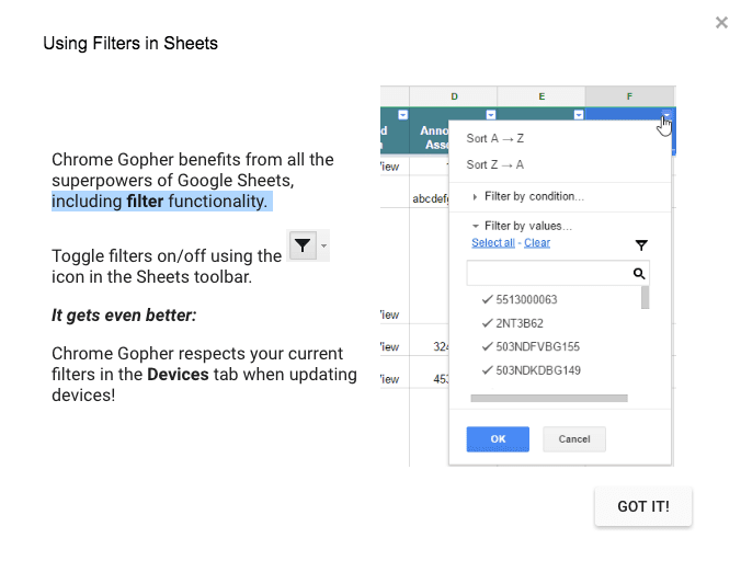 Gopher for Chrome | Amplified Labs