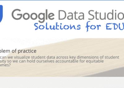 Custom Data Studio Dashboards for EDU